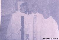 Foto dos primeiros Servos dos Pobres brasileiros