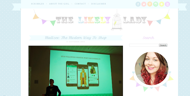 The Likely Lady: New Blog Design by Elevatormusik