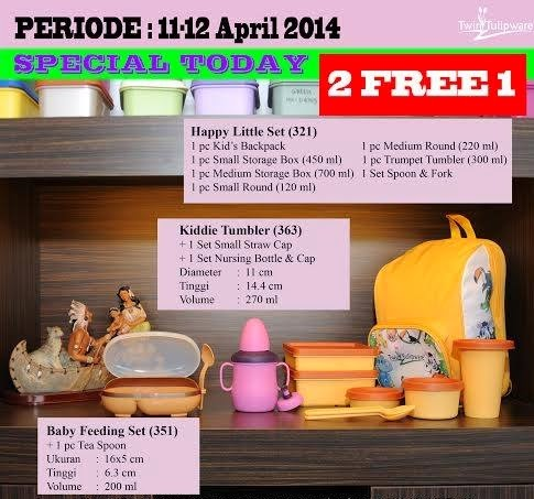 Promo Tulipware 11 dan 12 April 2014