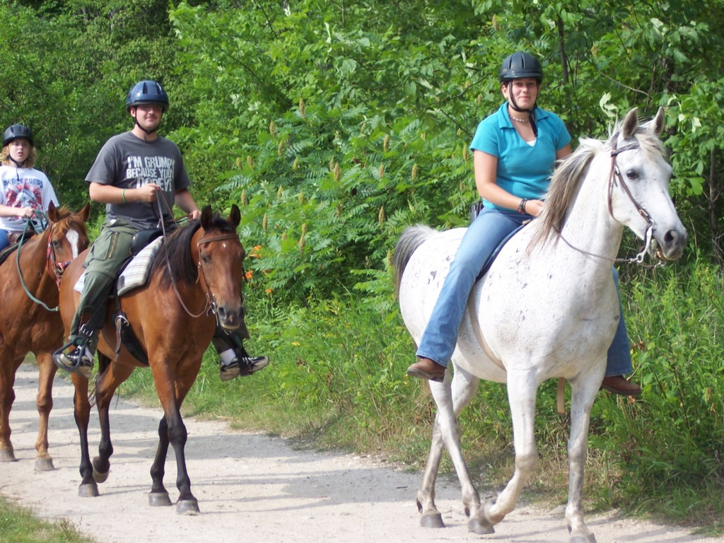 ... near Moscow, roudtrip airfare from New York, morning riding lessons, ...