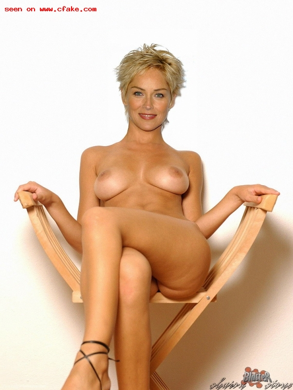 Sharon stone naked fakes consider, that