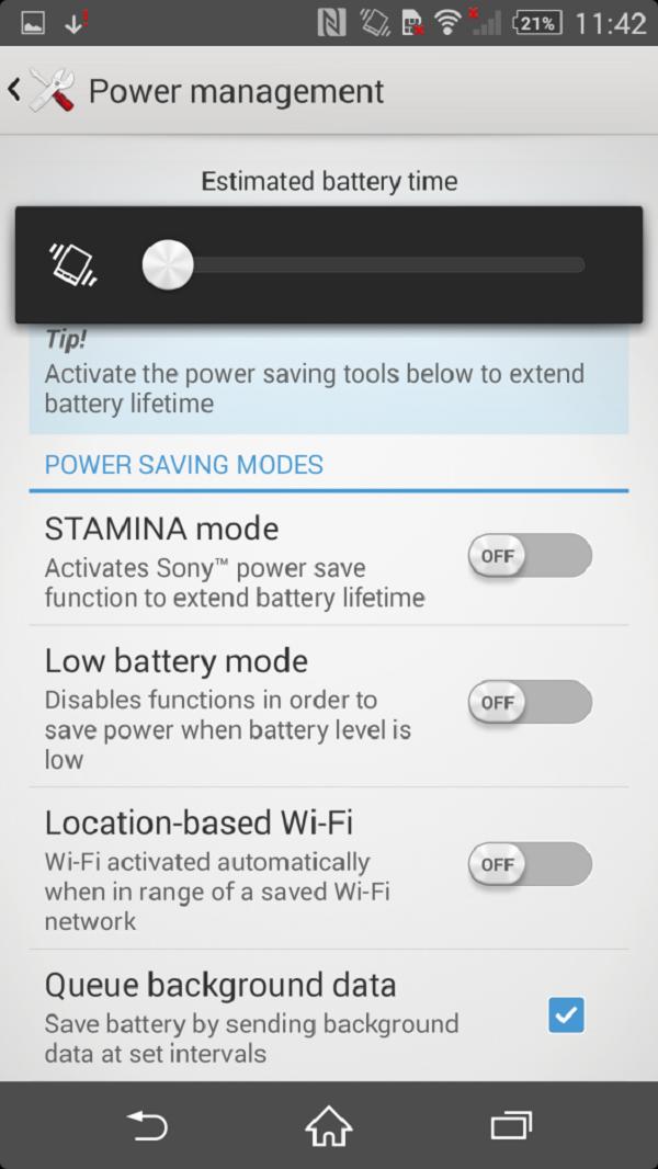 Lỗi sạc pin lâu đầy trên Sony Xperia Z2 nhật bản