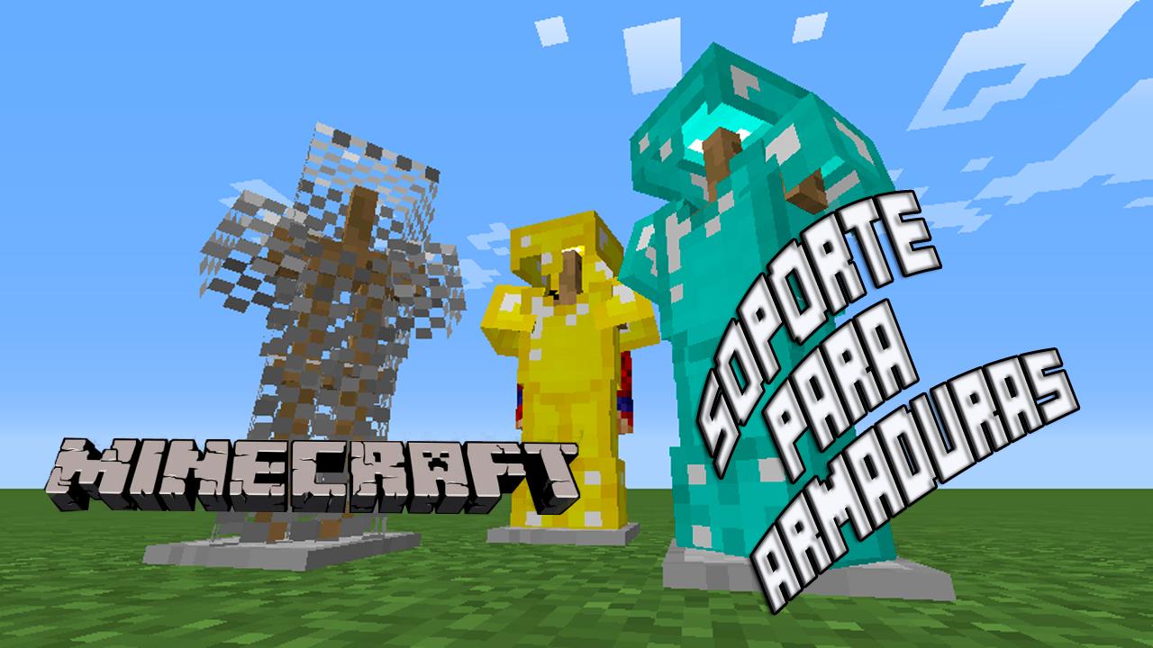 Como hacer el soporte para armaduras en Minecraft 1.8