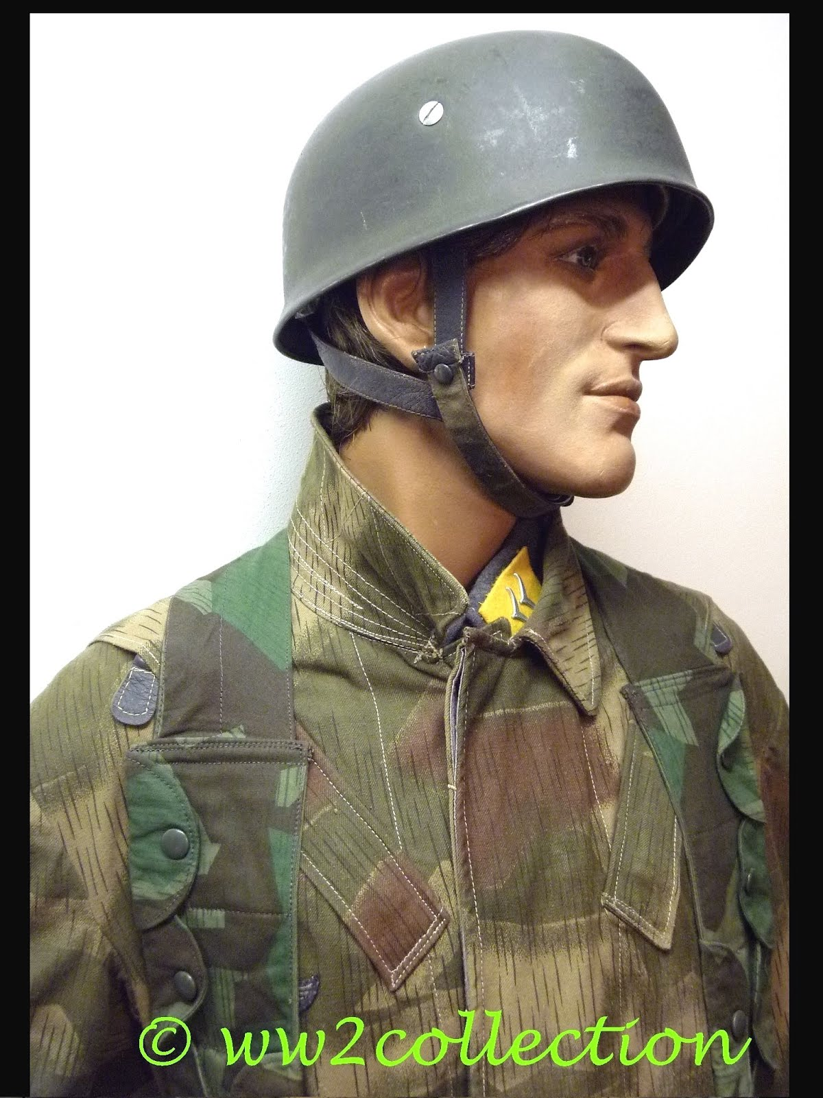 German Camouflage uniform WW2