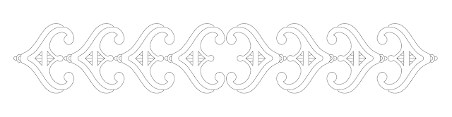 tiara border free hand embroidery pattern