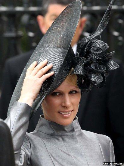 zara phillips hat. Zara Phillips, Princess Anne#39;s