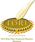 Career Directors International TORI Award Winner 2012