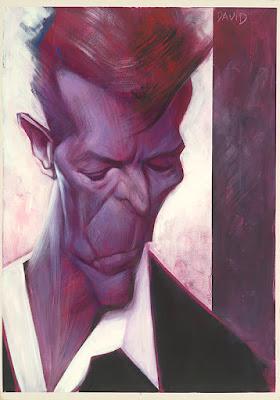 """David Bowie"" por Sebastian Krüger"