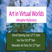 Art in Virtual Worlds
