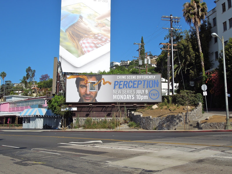 Perception season 1 billboard