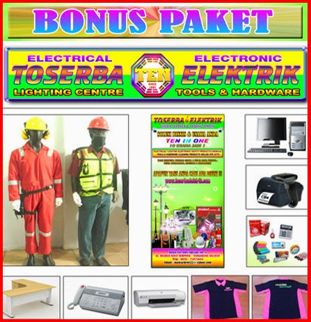 Bonus Paket Waralaba Toserba