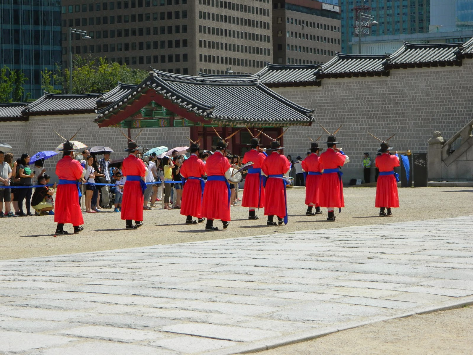 Changing guard ceremony in Seoul