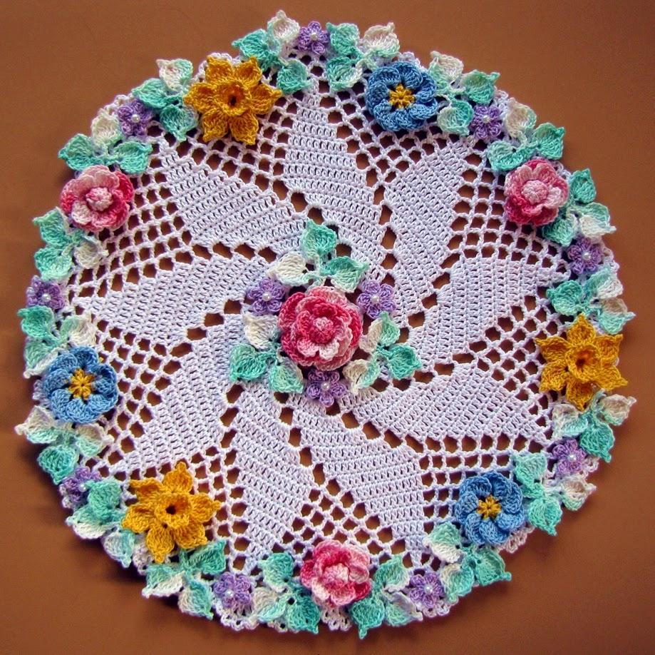 Bellacrochet More Vintage Floral Doilies