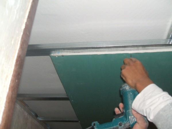 Techos de pladur como colocar un techo de pladur - Taladro para pladur ...