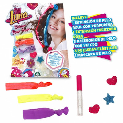 TOYS : JUGUETES - DISNEY Soy Luna Colour Your Hair - Kit para el pelo Giochi Preziosi 2016 | Serie Television Comprar en Amazon España