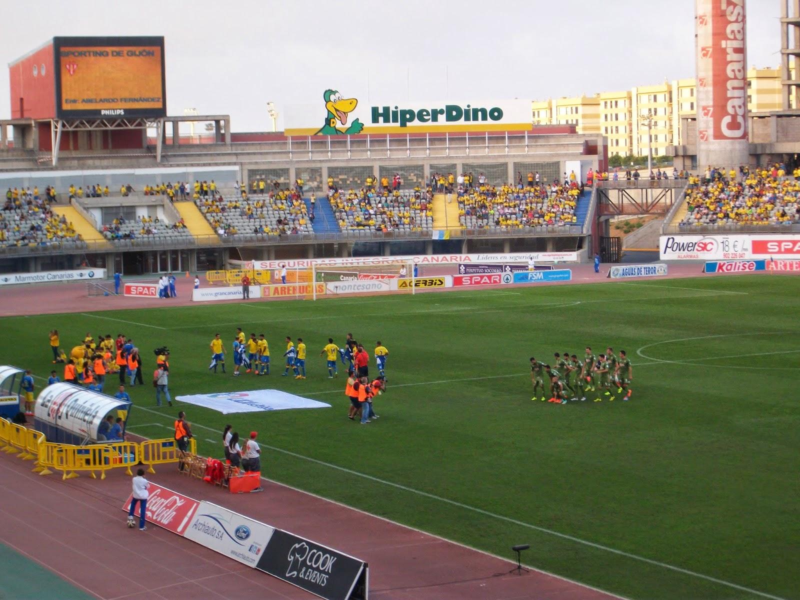UD Las Palmas - Sporting de Gijón