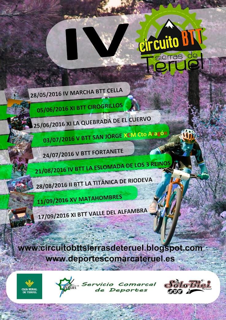 Circuito BTT Sierras de Teruel