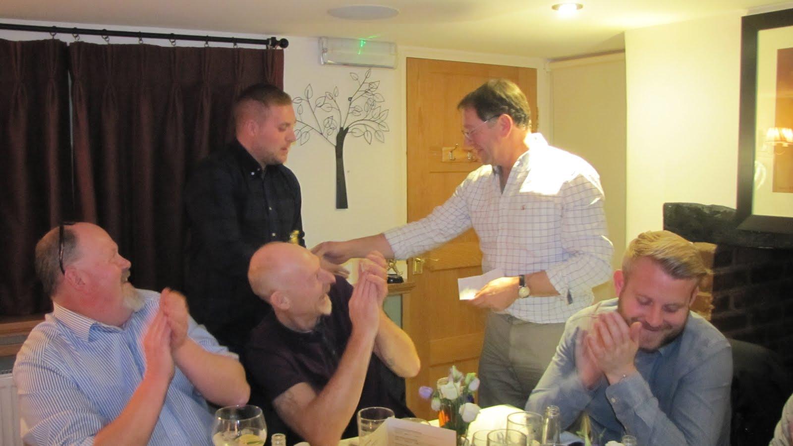 Ben Atkinson Wins the Batting Award