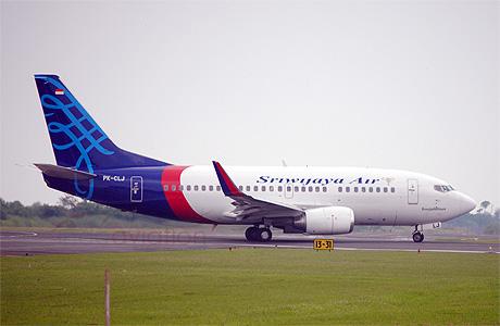 Sriwijaya Air Boeing 737-500 Winglet PK-CLJ