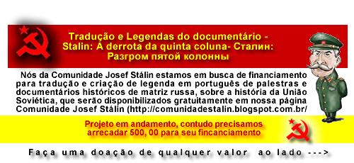 A Comunidade Josef Stálin precisa de sua colaboração.