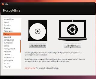 Ubuntu kurulumu nasıl yapılır?