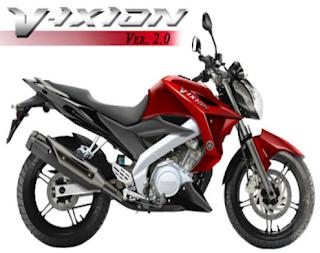Spesifikasi Yamaha New V-IXION 2013