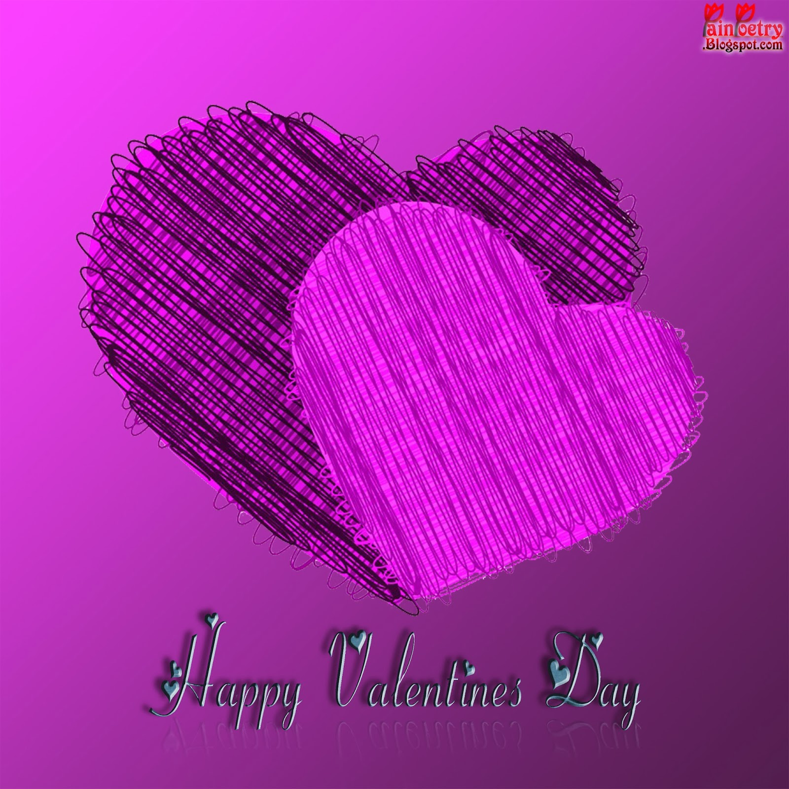 Happy-Valentines-Day-Two-Heart-In-Love-Image-HD