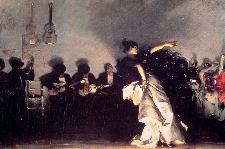 Singer Sargent jaleo