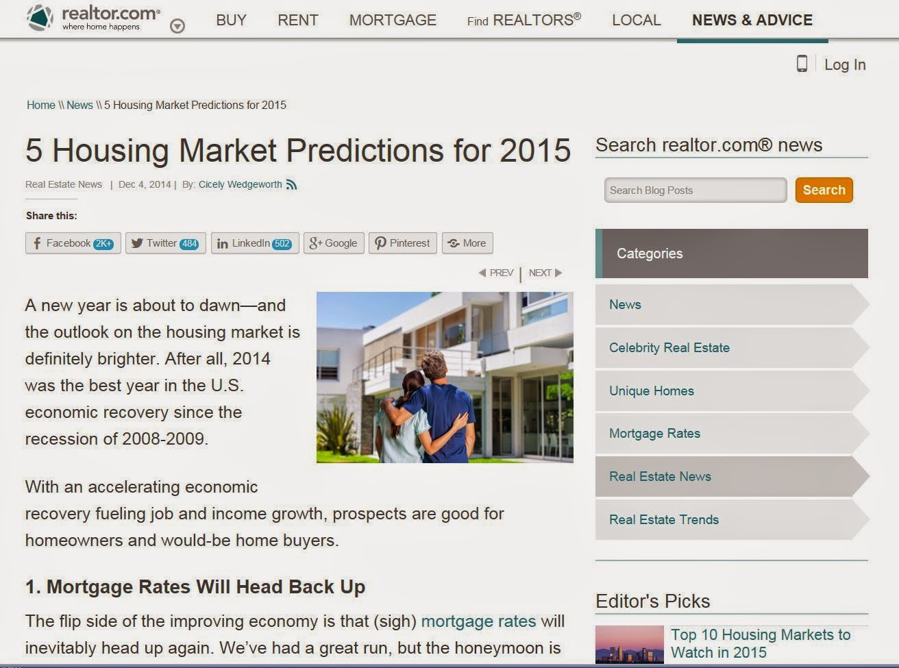 http://www.realtor.com/news/5-housing-market-predictions-2015/