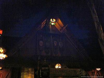 Disneyland Adventureland After Hours Closed night Tiki Room