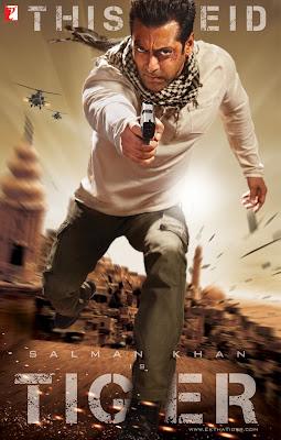 Ek Tha Tiger Poster Salman Khan