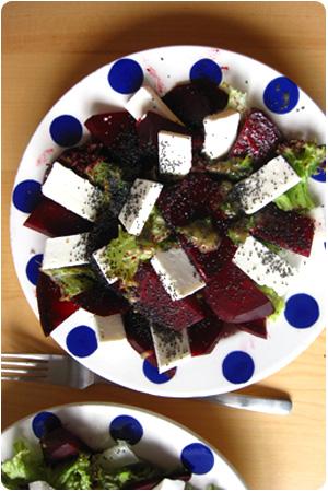 Ziegenkäse Rote Beete Salat