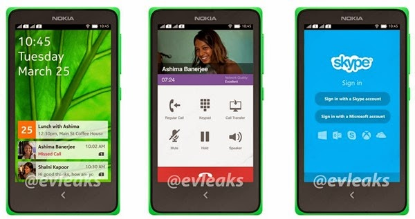 Normandy, An Android Powered Nokia Device Images