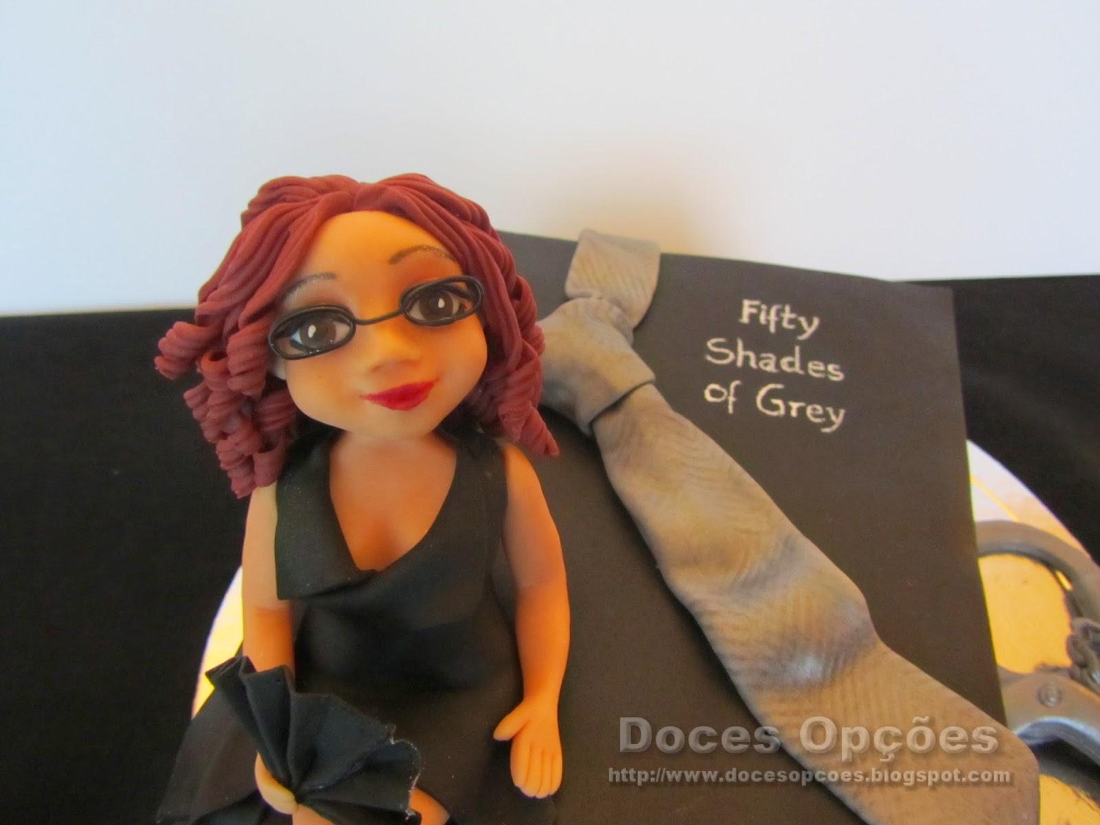 bolo aniversário 50 sombras de grey bragança