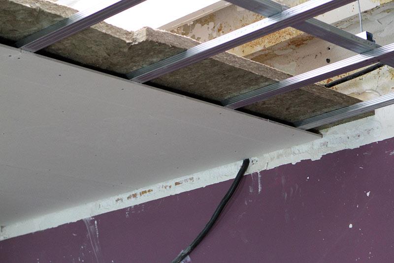 Siland fotos de techos de yeso laminado - Placas de yeso para techos ...