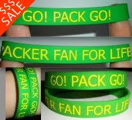 THE PACKER FAN FOR LIFE BRACELETS!