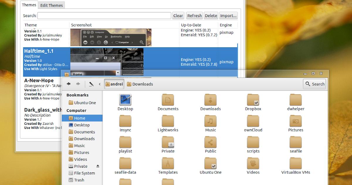 Установить emerald window decorator в ubuntu 1110 через репозиторий