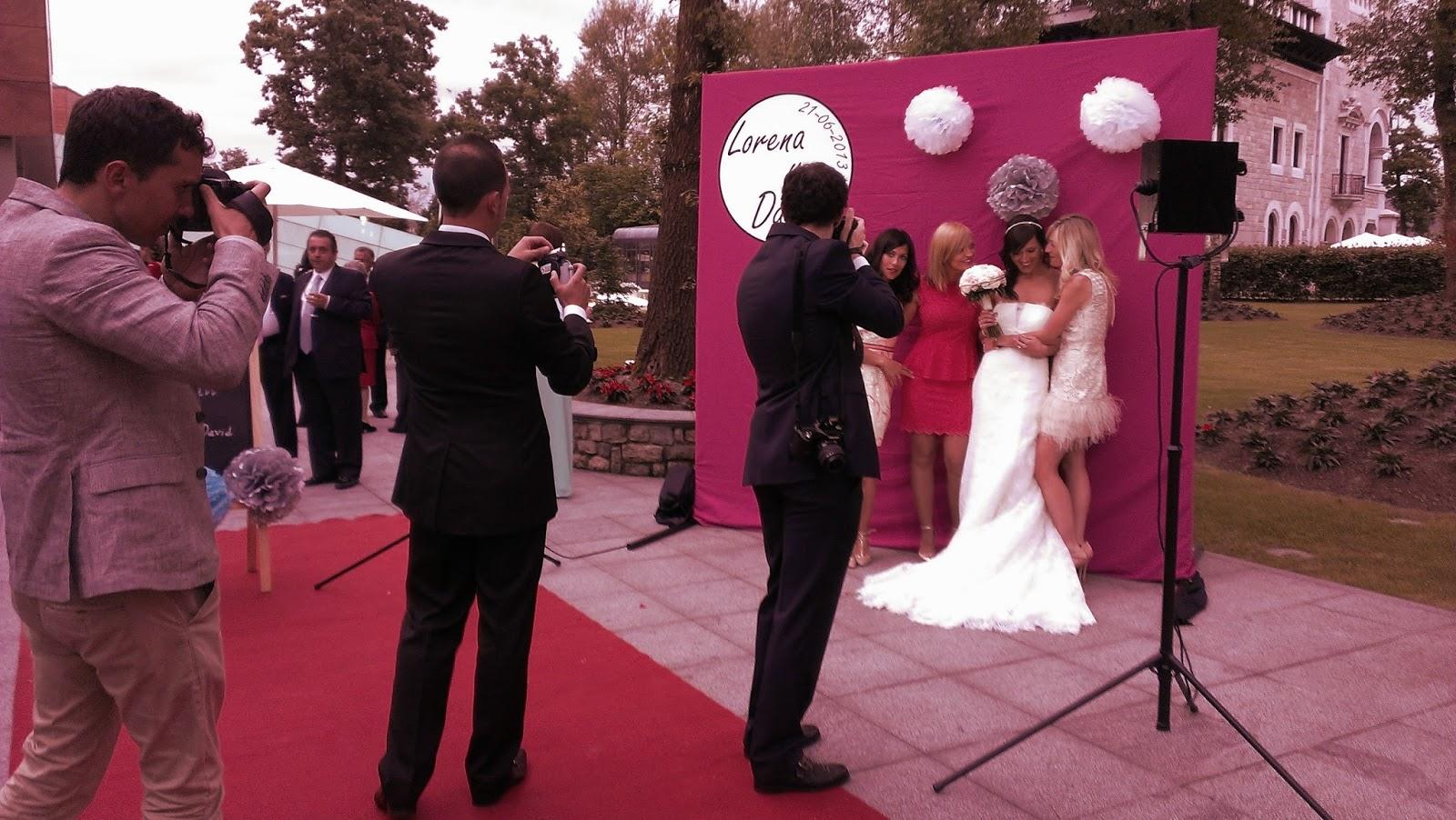 Secretos de una wedding planner una boda con muchas sorpresas la boda de lorena y david - Photocall boda casero ...