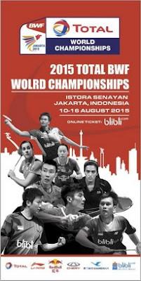 Skuat Merah Putih di World Badminton Championship 2015
