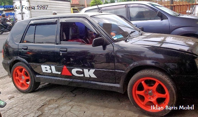 dijual suzuki forsa 1987 iklan baris mobil gratis. Black Bedroom Furniture Sets. Home Design Ideas