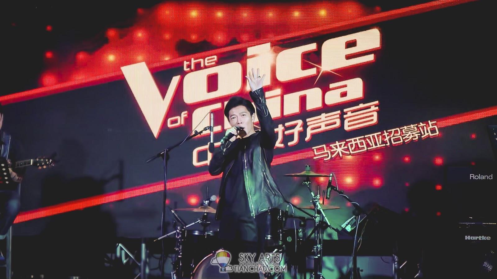 希望 Peace张诒博能在《TheVoice 中国好声音2015》得到很好的成绩!!