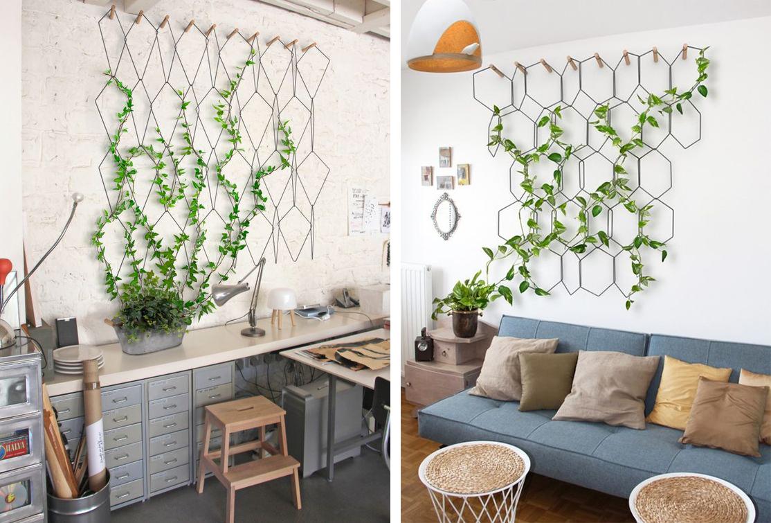 Préférence La Fabrique à Déco: Un mur végétal : le jardin vertical en intérieur XW99