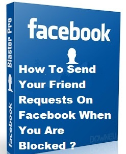 how to find a person who blocked you on facebook