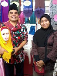 Datuk Sheqal di Booth Kami