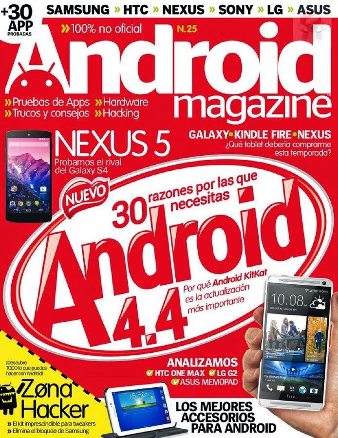 Android Magazine España No.25 Enero 2014