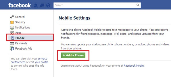 how to use regular facebook on mobile
