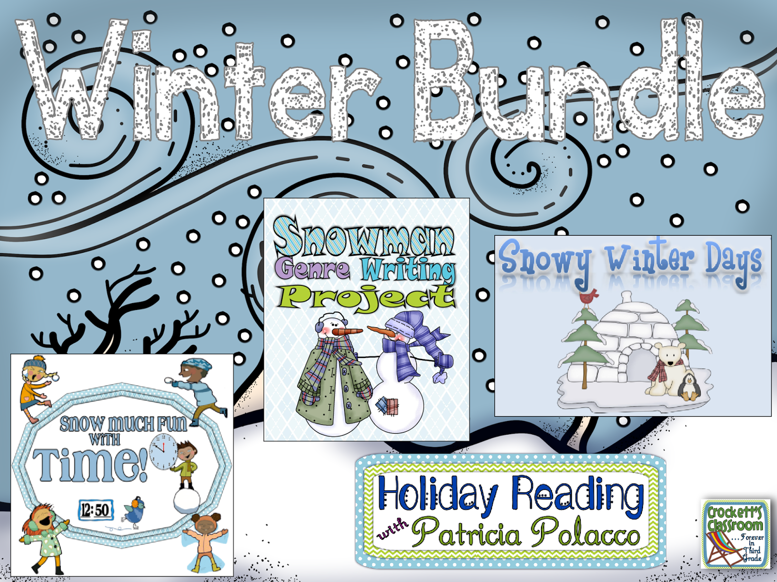 Winter bundle, 4 great products to keep your students on track through the cold winter months.