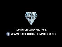 BIGBANG Alive Tour Info on FB