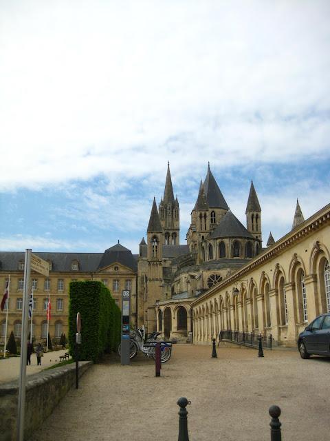 Hotel de Ville in Caen, France.