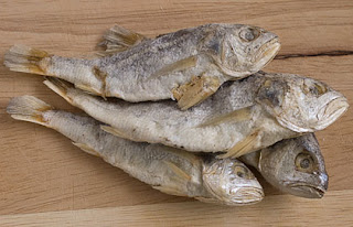 medium sized dried fish